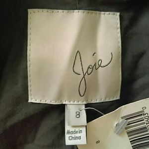 Joie mehira animal print blazer